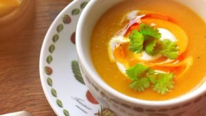 Soup with Chilli Oil