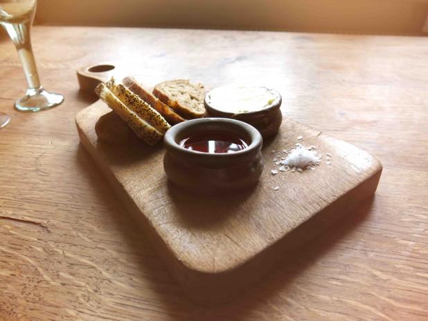 Bread with Chilli Oil
