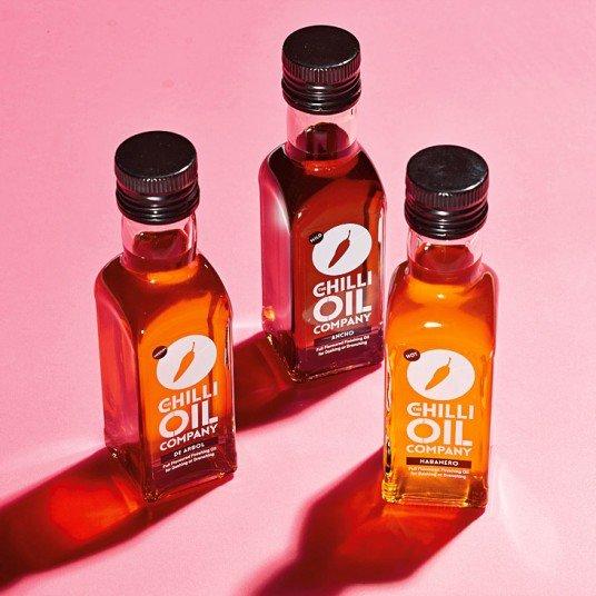 Three Chilli Oils