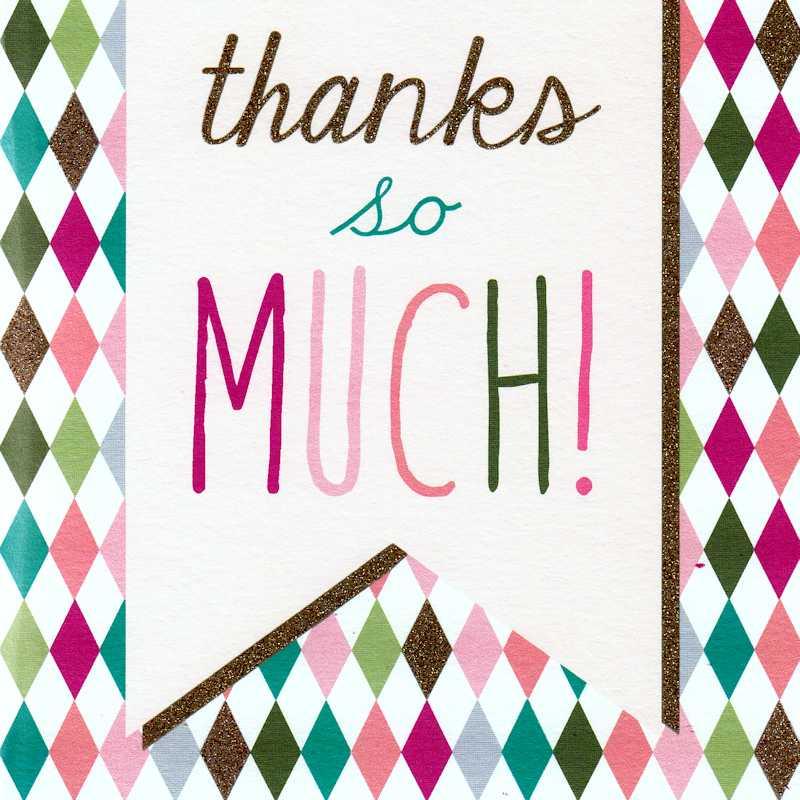 Thank you - Big Thanks
